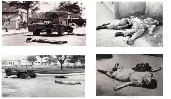PASUKAN TNI DI BUNUH APRA DI BANDUNG JANUARI 1950:suatu rangkaian perang kemerdekaan indonesia
