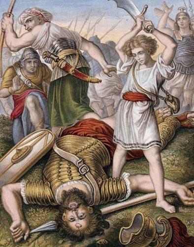 Daud membunuh goliath